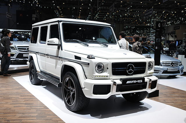 The All Electric G Wagon Coming To A City Near You
